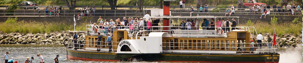 Waimarie Paddle Steamer