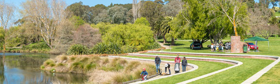 Parks And Gardens In Whanganui