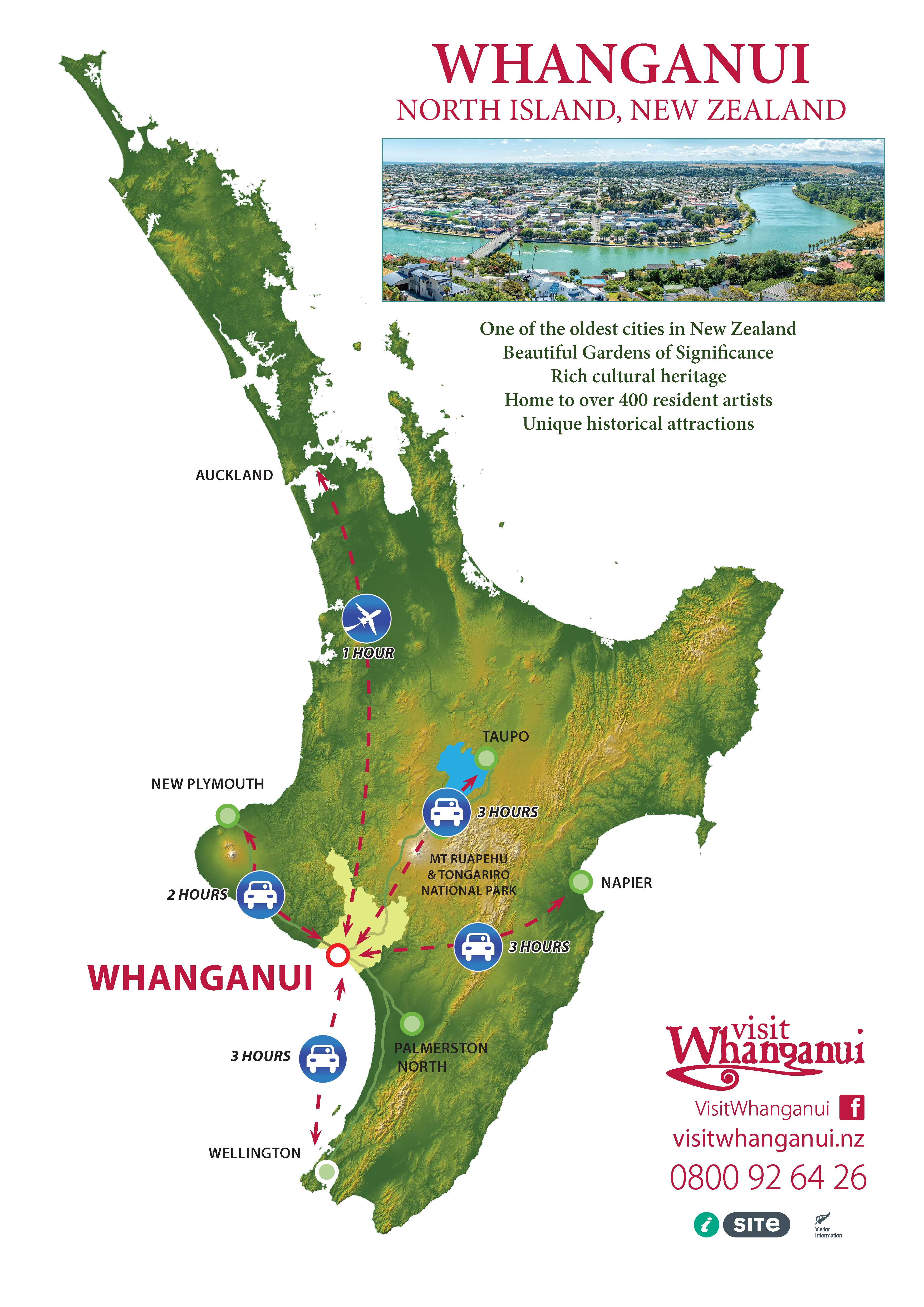 How To Get To Whanganui New Zealand